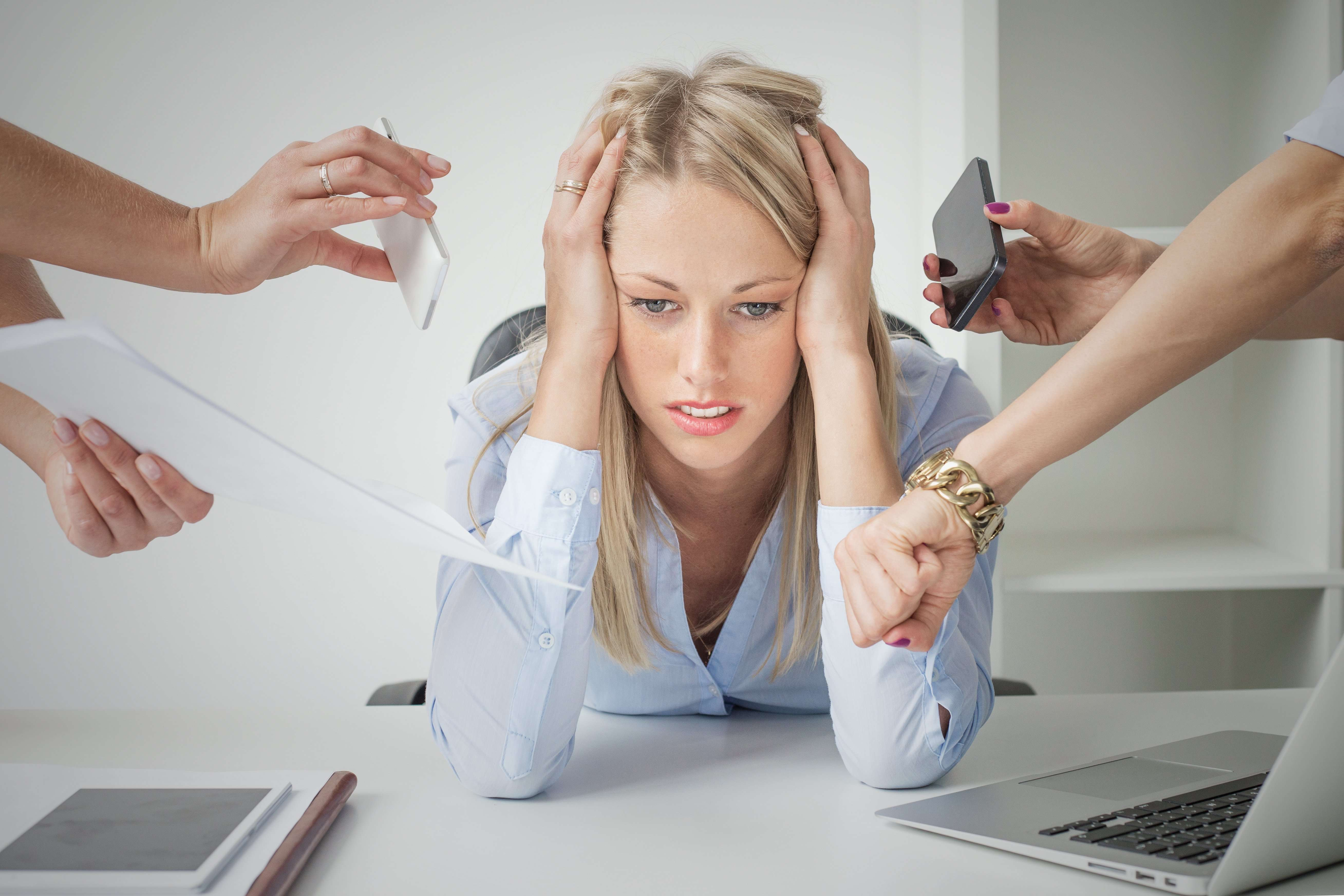 Woman in a hostile work environment
