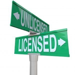 Licensed vs Unlicensed
