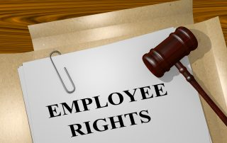 Booklet of employee rights in California